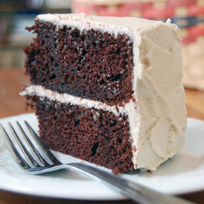 Chocolate Cake with Cappuccino Frosting