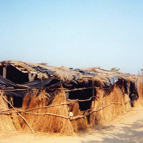 In very remote rural areas, school buildings are very basic and built out of whatever is locally available.