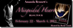 Misguided Heart tour banner