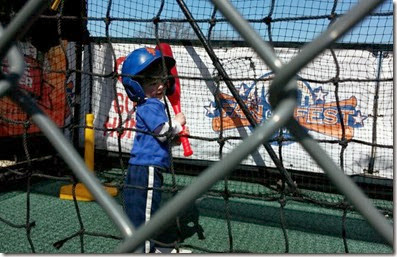 Mets - Batting practice. Photo by Jason Greene