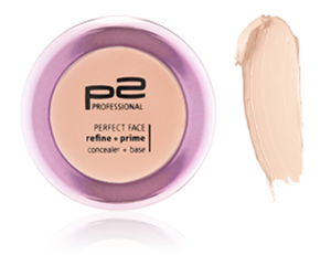 perfect face refine   prime conceiler mit Swatch