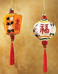 chinese lantern ornaments