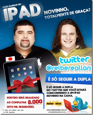 SORTEIO DO IPAD