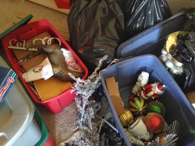 Christmas-bins