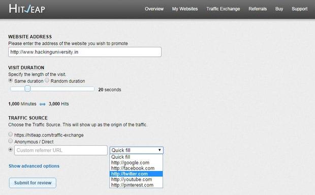 hitleap-adding-website