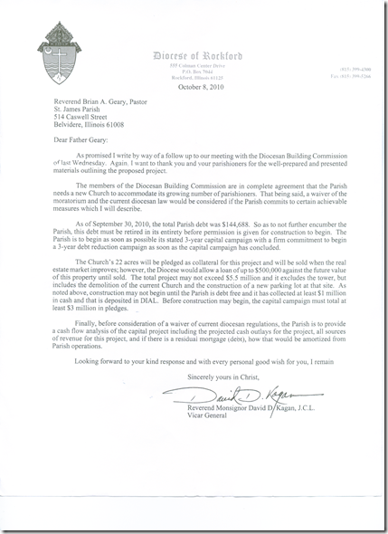 10-28-2010 letter from diocese