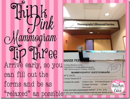 5 Tips for making your mammogram great (4)