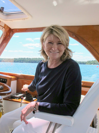 Oh, Martha, you're at the helm.  Let's getting going right now!