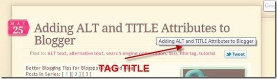 tag title in blogger