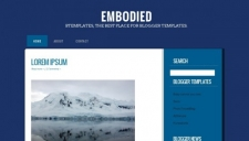 Embodied blogger template 225x128