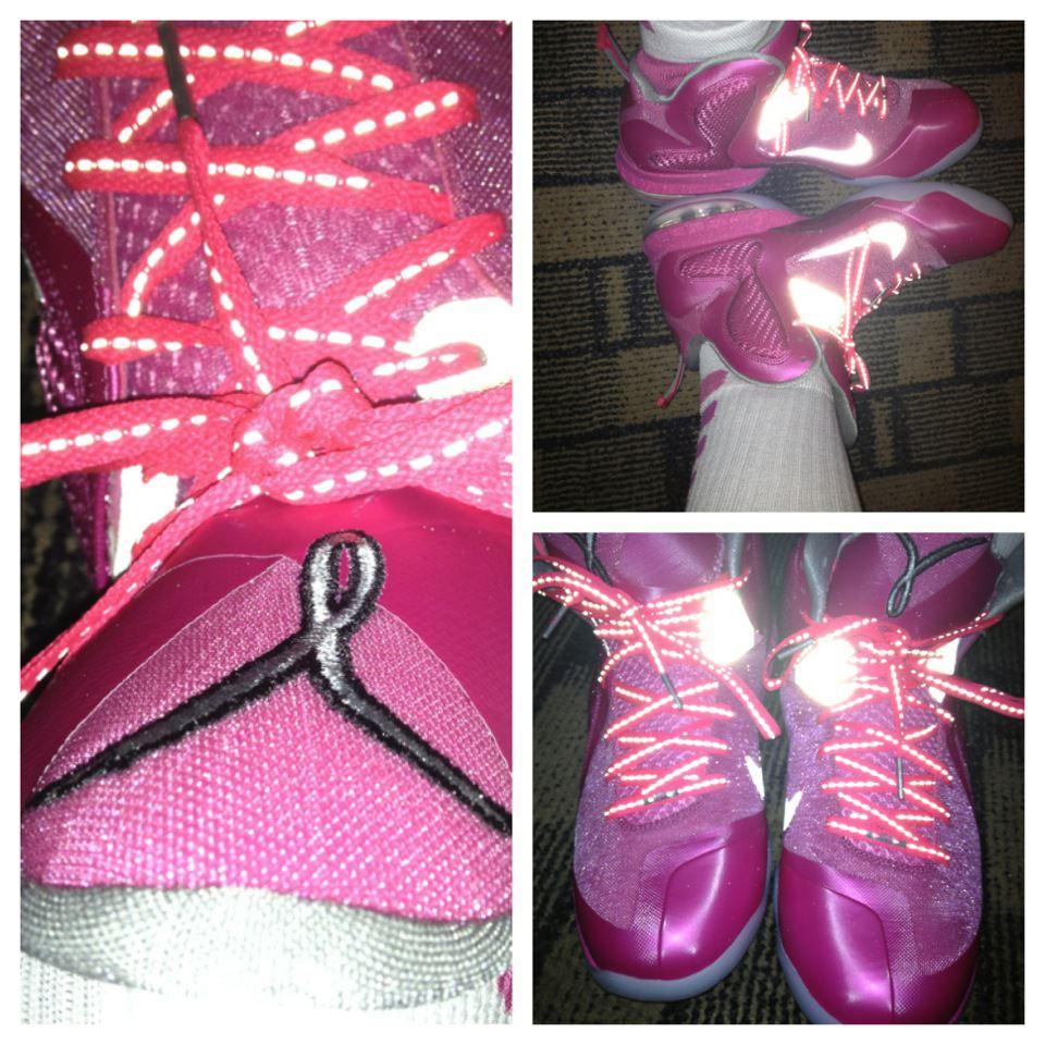 Womens Nike LeBron 9 Think Pink Kay Yow