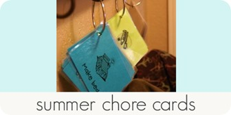 summer chore cards