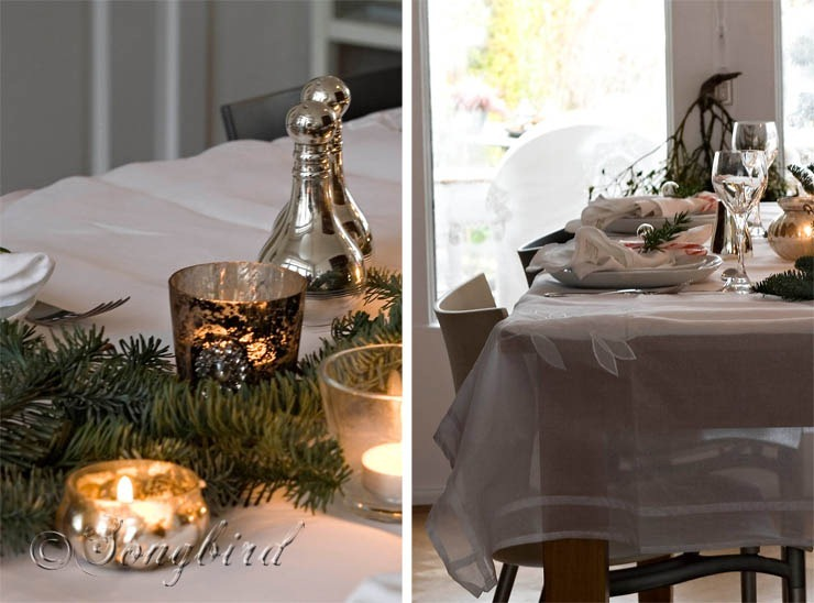 Songbird Christmas Table Setting 17