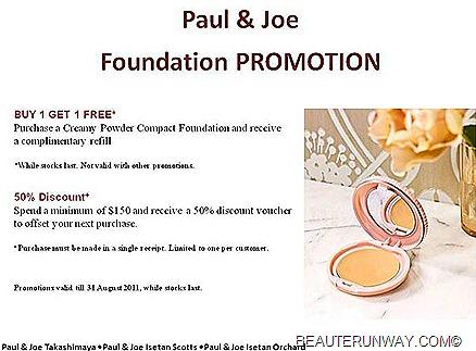 Paul & Joe Foundation Sale