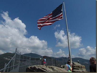 Chimney Rock, North Carolina the top of the world
