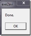 โปรแกรมฟรีแวรืแปลง์ exe เป็นวีดีโอ avi