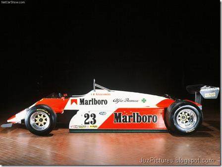 Alfa Romeo 182 T Formula 1 - Side,1
