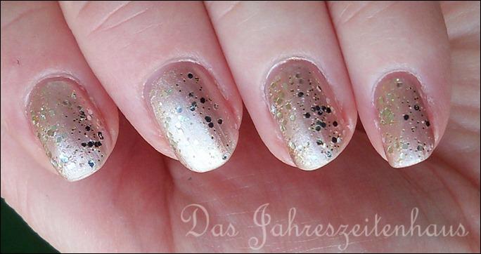 Silvester Nageldesign Champagner Nails 3