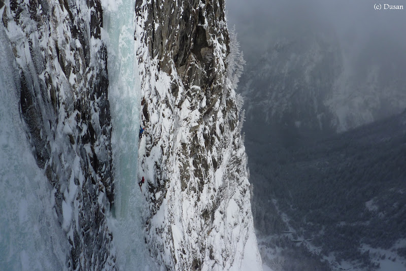 2013.02.21 - Cascada de gheata Supervisor (WI 6, 270m)