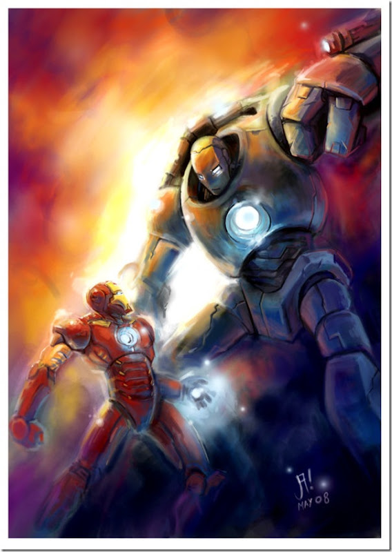 Iron man ,Anthony Edward ,Tony Stark (133)