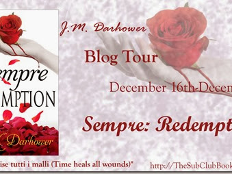 Blog Tour: Sempre: Redemption by J. M. Darhower