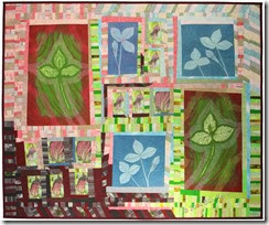 Jack in the Pulpit, an art quilt by Sue Reno