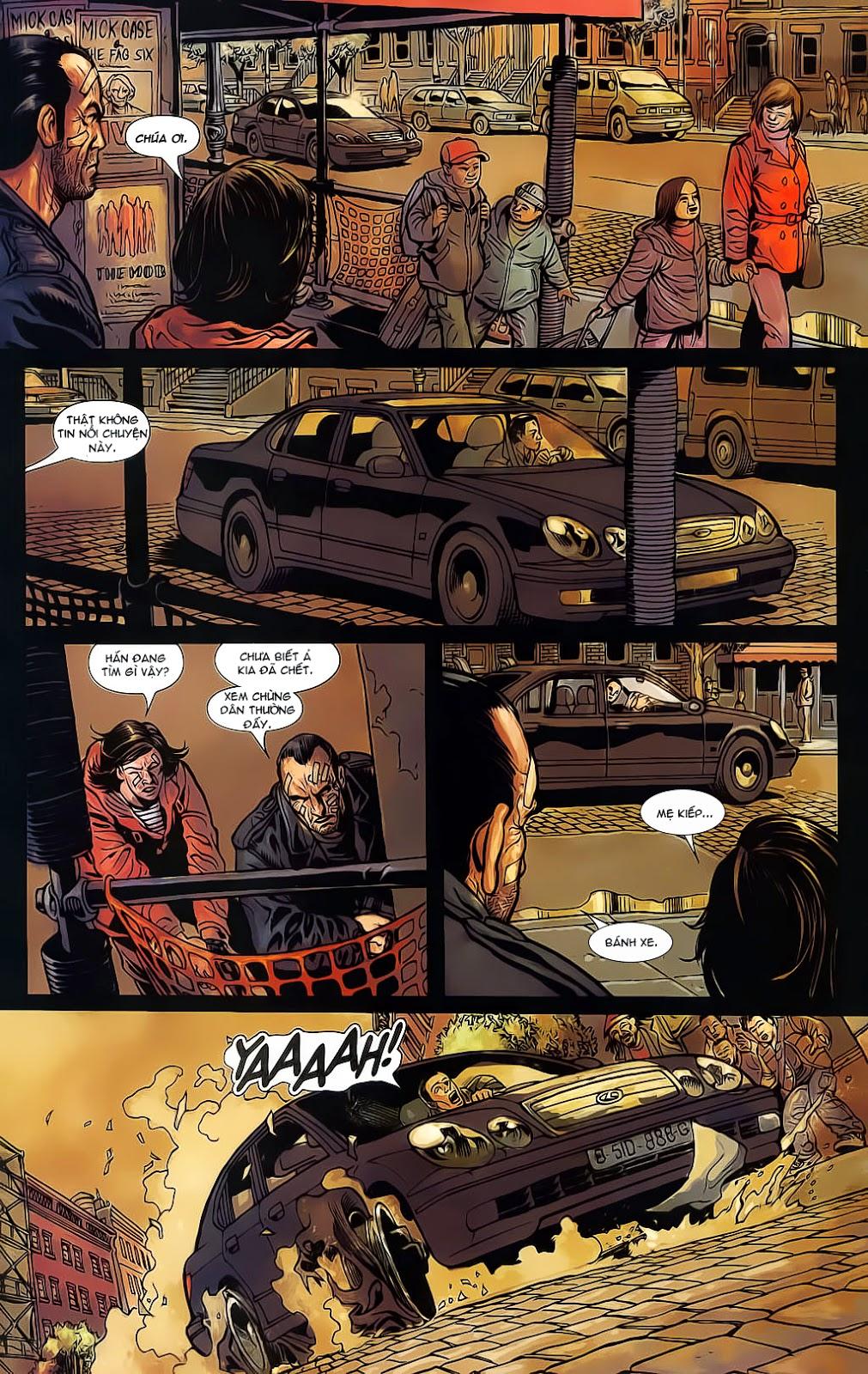 The Punisher: Trên là Dưới & Trắng là Đen chap 6 - Trang 16