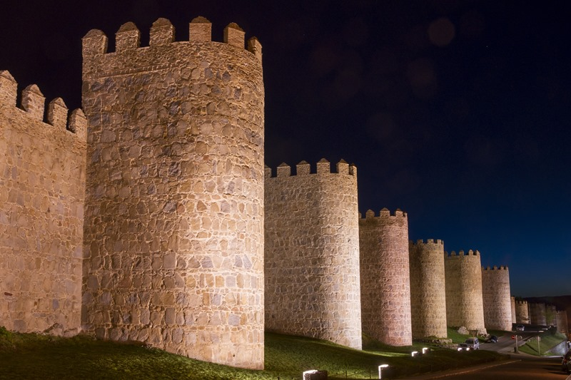 City Walls of Avila (Spain)
