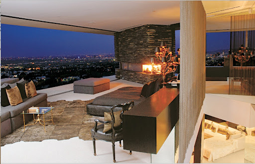 Love, love, love Randolph Duke's Los Angeles pad.