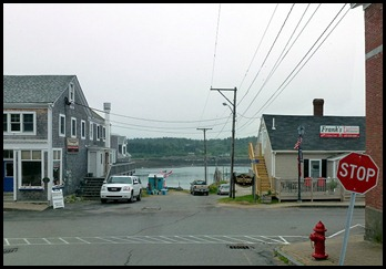 01g - visiting Lubec - Waterfront Down Town