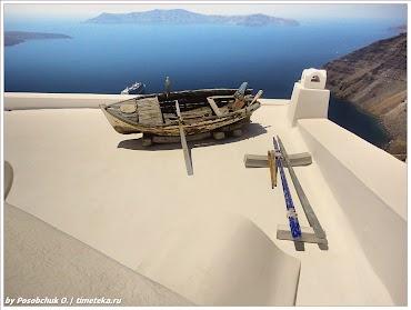 Остров Санторин. Греция.