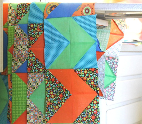 Neon Zig Zag Cluck Cluck Sew