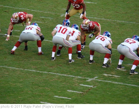 'Eli Manning Under Center' photo (c) 2011, Rajiv Patel (Rajiv's View) - license: http://creativecommons.org/licenses/by-nd/2.0/