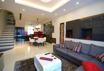 sillon,gris,decoracion,apartamento,moderno