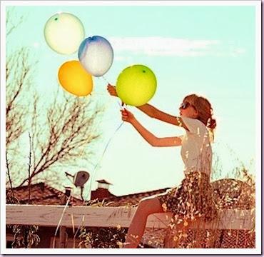 balloons sunny day