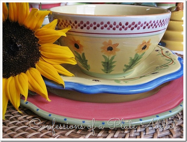 CONFESSIONS OF A PLATE ADDICT Pfaltzgraff Pistoulet Dinnerware Giveaway