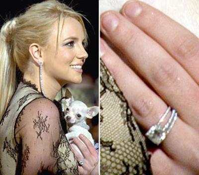 Britney spears wedding ring