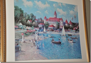 Grand Floridian Framed Print (2)