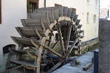 Prague's last water wheel - all the others were destroyed in the 2002 flood