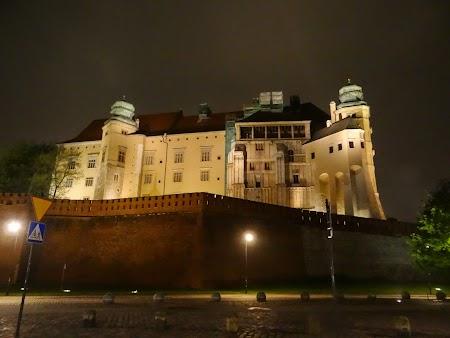 25. Palatul Wawel - noaptea.JPG