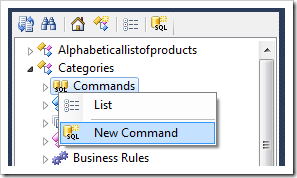 New Command for Categories controller.