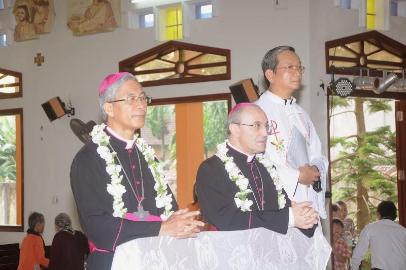 Diễn văn chào mừng và cám ơn Đức TGM Leopoldo Girelli tại giáo xứ Châu Me
