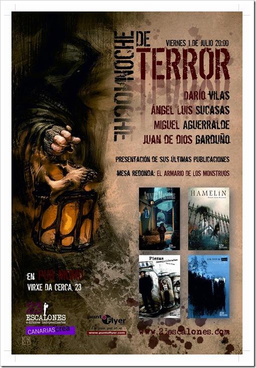 cartel evento presentacion 01 JULIO 2011