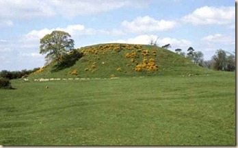 Dowth Passage Tomb, Co. Meath, Ireland.