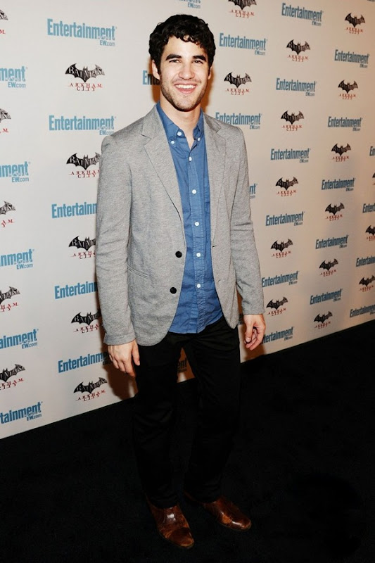 SAN DIEGO, CA - JULY 23:  Actor Darren Criss arrives at Entertainment Weekly's 5th Annual Comic-Con Celebration sponsored by Batman: Arkham City held at Float, Hard Rock Hotel San Diego on July 23, 2011 in San Diego, California.  (Photo by Michael Buckner/Getty Images For Entertainment Weekly)