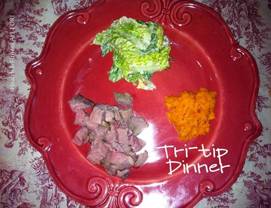 tri-tip dinner