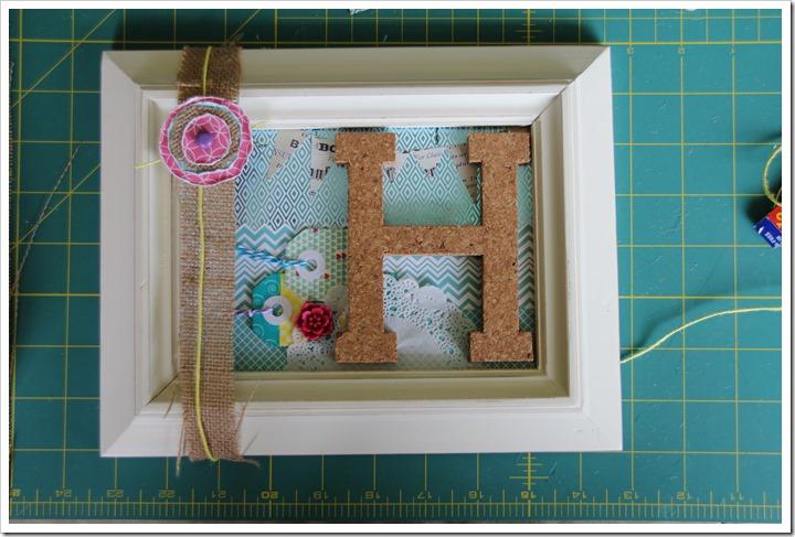 Monogram Letter Frames 5