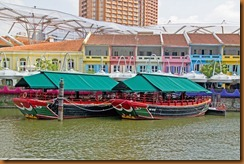 riverboats Clarke Quay