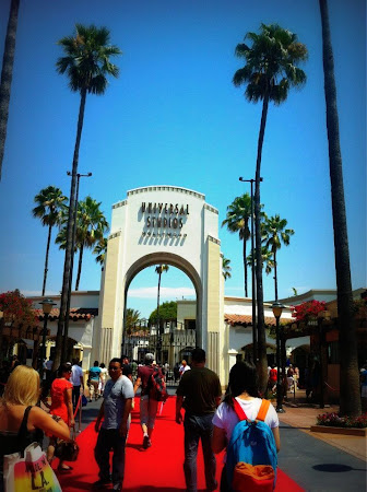Imagini Los Angeles: Daca vrei pe covorul rosu fugi la Universal Studios