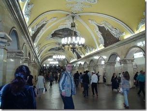 067-Moscou Metro Komsomolskaia